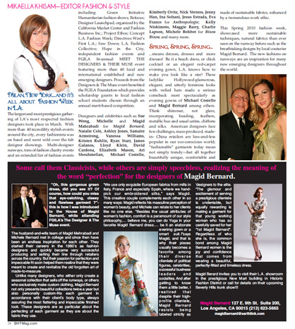 MAGID BERNARD in The Beverly Hills Times