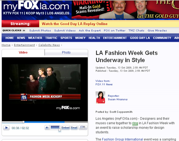 MAGID BERNARD on my FOX la television